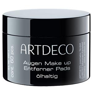 Artdeco Vlhčené odličovacie tampóny s olejom (Eye Makeup Remover Pads Oily) 60 ks