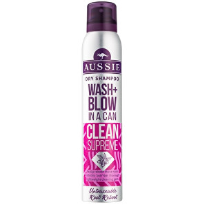 Aussie Suchý šampon Wash+Blow Clean Supreme (Dry Shampoo) 180 ml