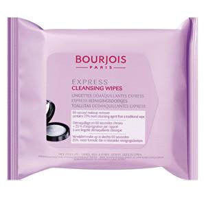 Bourjois Odličovací kapesníčky (Express Cleansing Wipes) 25 ks