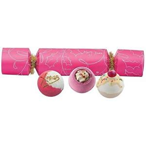 Bomb Cosmetics Dárková sada šumivých bomb do koupele Berry Christmas Cracker (Gift pack)