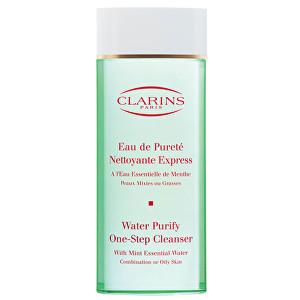 Clarins Expresní odličovač pro smíšenou až mastnou pleť (Water Purify One-Step Cleanser) 200 ml