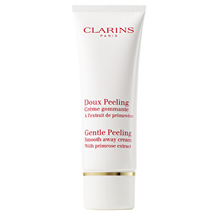 Clarins Jemný peeling s výtažkem z petrklíče (Gentle Peeling Smooth Away Cream) 50 ml