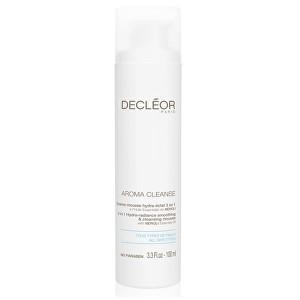 Decléor Vyhlazující a čisticí pěna 3 v 1 Aroma Cleanse (3in1 Hydra-Radiance Smoothing & Cleansing Mousse) 100 ml