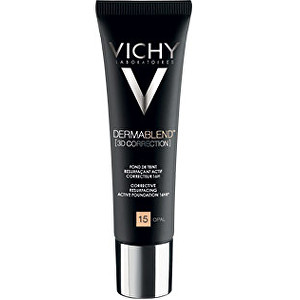 Vichy Korekčný vyhladzujúci 3D make-up SPF 25 16H Dermablend (3D Corection) 30 ml 15 Opal