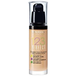 Bourjois Make-up pre perfektnú pleť SPF 10 (123 Perfect) 30 ml 52 Vanille