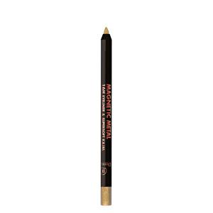 Dermacol Metalická očná linka v ceruzke Magnetic Metal (16H Eyeliner & Supersoft Kajal) 2 g 1 zlatá