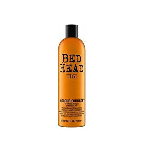 Tigi Olejový šampon pro barvené vlasy Bed Head (Colour Goddess Oil Infused Shampoo) 750 ml