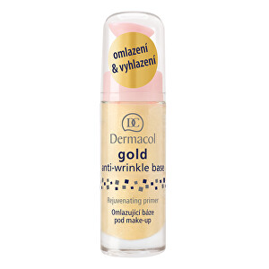 Dermacol Omladzujúca báza pod make-up so zlatom ( Gold Anti-Wrinkle Base) 20 ml