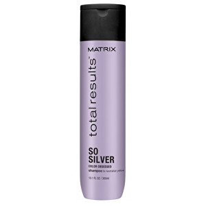 Matrix Šampon pro neutralizaci žlutých tónů Total Results So Silver (Color Obsessed Shampoo to Neutralize Yellow) 300 ml