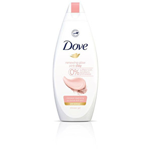 Dove Sprchový gél s ružovým ílom Renewing Glow ( Pink Clay Shower Gel) 250 ml