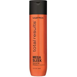 Matrix Vyhlazující šampon pro neposlušné vlasy Total Results Mega Sleek (Shampoo for Smoothness) 300 ml