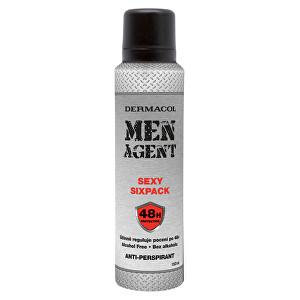 Dermacol Antiperspirant Men Agent Sexy Sixpack 150 ml - SLEVA - bez víčka