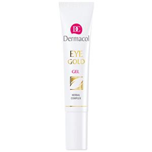 Dermacol Oční gel proti otokům, únavě a kruhům pod očima (Eye Gold Gel) 15 ml