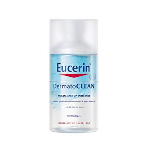 Eucerin Dvoufázový odličovač voděodolného očního make-upu DermatoCLEAN 125 ml