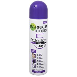 Garnier Minerální antiperspirant 5 Protection Floral Fresh 48h ve spreji pro ženy 150 ml