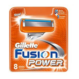 Gillette Náhradní hlavice Gillette Fusion Power 8 ks