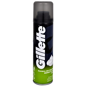 Gillette Citrusová pěna na holení (Lemon Lime) 200 ml