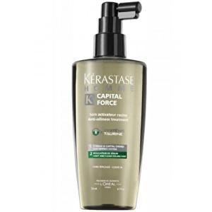 Kérastase Sprej na mastné vlasy pro muže Homme Capital Force (Anti-Oiliness Treatment) 125 ml