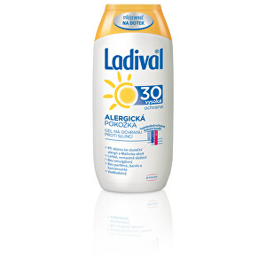 Ladival Gel na ochranu proti slunci pro alergickou pokožku OF 30 200 ml