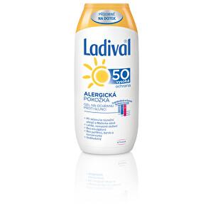 Ladival Napvédő gél 50 200 ml allergiás bőrre