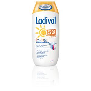 Ladival Gel na opalování pro citlivou pokožku dětí OF 50 200 ml