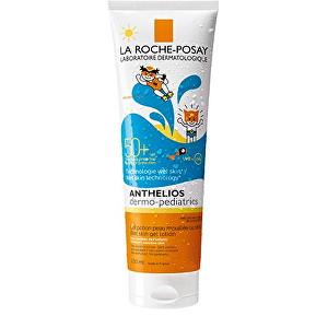 La Roche Posay Ochranné dětské gelové mléko SPF 50+ Anthelios (Wet Skin Gel Lotion) 250 ml