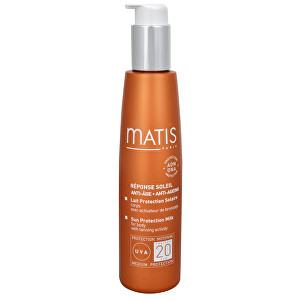 Matis Paris Opaľovacie mlieko na telo SPF 20 (Sun Protection Milk for Body) 150 ml