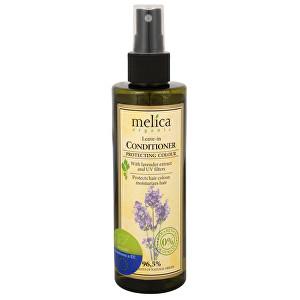 Melica Nesmývatelný kondicionér na ochranu barvy vlasů s levandulí a UV filtry 200 ml