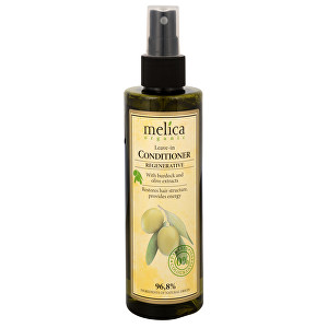 Melica Nesmývatelný regenererační kondicionér na vlasy s extraktem lopuchu a oliv 200 ml