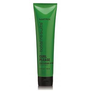 Matrix Konturovací mléko pro kudrnaté vlasy Total Results Curl Please (Contouring Lotion Curl Control Leave-in) 150 ml
