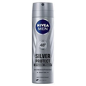 Nivea Antiperspirant v spreji pre mužov Silver Protect Dynamic Power 150 ml