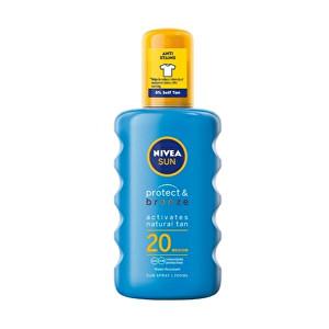 Nivea Intenzivní sprej na opalování SPF 20 Sun (Protect & Bronze Sun Spray) 200 ml