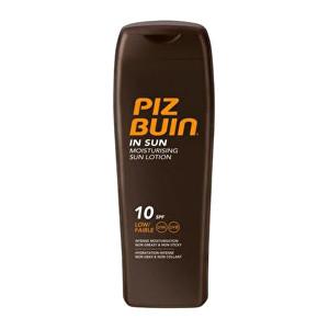 Piz Buin Mléko na opalování SPF 10 (In Sun Moisturising Sun Lotion) 200 ml