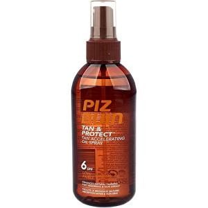 Piz Buin Ochranný olej ve spreji urychlující proces opalování Tan & Protect SPF 6 (Tan Accelerating Oil Spray) 150 ml