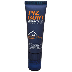 Piz Buin Mountain Suncream SPF15 20 ml + Lipstick 2,3 ml