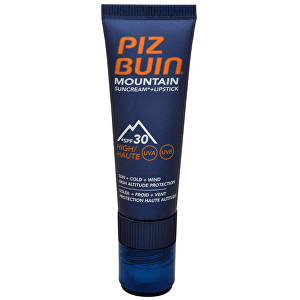 Piz Buin Mountain Suncream SPF30 20 ml + Lipstick 2,3 ml
