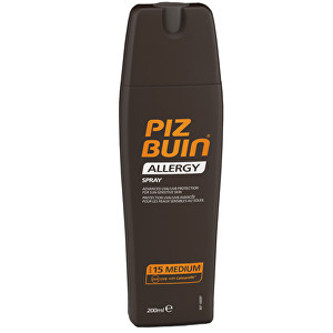 Piz Buin Sprej na opalování SPF 15 (Allergy Spray) 200 ml