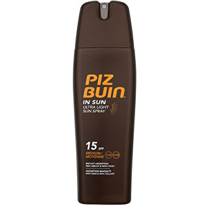Fotografie PIZ BUIN SPF15 In Sun Ultra Light Spray 200ml