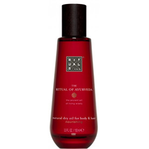 Rituals Suchý olej na tělo a vlasy The Ritual Of Ayurveda Natural Dry Oil For Body amp; Hair 100 ml
