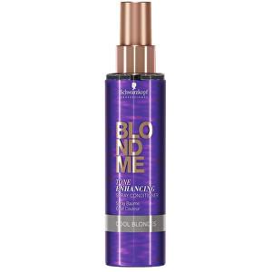 Schwarzkopf Professional Lăsați balsam pentru evidențierea nuanțe blond rece BLONDME (Tone Enhancing Spray Conditioner Cool Blonde s) 150 ml