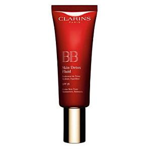 Clarins BB krém Detox SPF 25 (Skin Detox Fluid) 45 ml - SLEVA - pomačkaná krabička 03 Dark