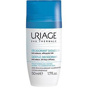 Uriage Jemný kuličkový deodorant roll-on (Gentle Deodorant) 50 ml