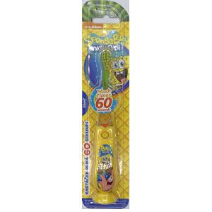 VitalCare Blikajúce kefka na zuby SpongeBob