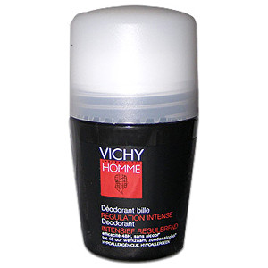 Vichy Guličkový deodorant pre mužov Homme Deo roll-on Regulation Intense 50 ml