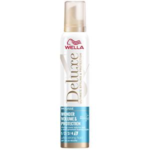Wella Pěnové tužidlo Deluxe Wonder Volume & Protection (Mousse) 200 ml