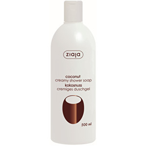 Ziaja Krémové sprchové mýdlo Coconut 500 ml
