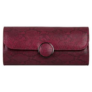 Bulaggi Dámske listová kabelka Phoebe Clutch 32605 Burgundy