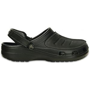 Crocs čierne šľapky Yukon mesa Clog Black / Black 203261 42-43