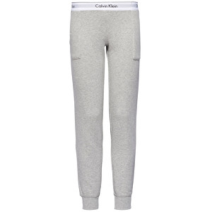 Calvin Klein Dámske nohavice Modern Cotton Line Extension Bottom Pant Jogger QS5716E-020 Grey Heather S