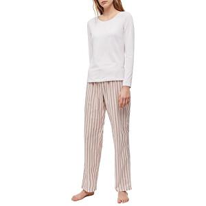 Calvin Klein Dámske pyžamo L / S Pant Set QS6350E-OPV M
